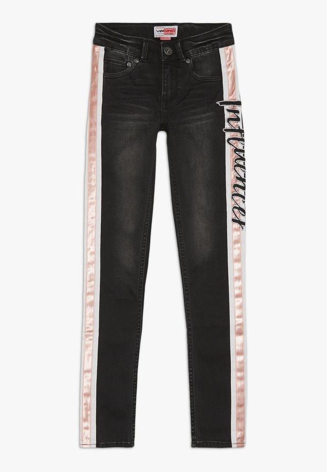 BEATA - Jeans Skinny Fit - black vintage