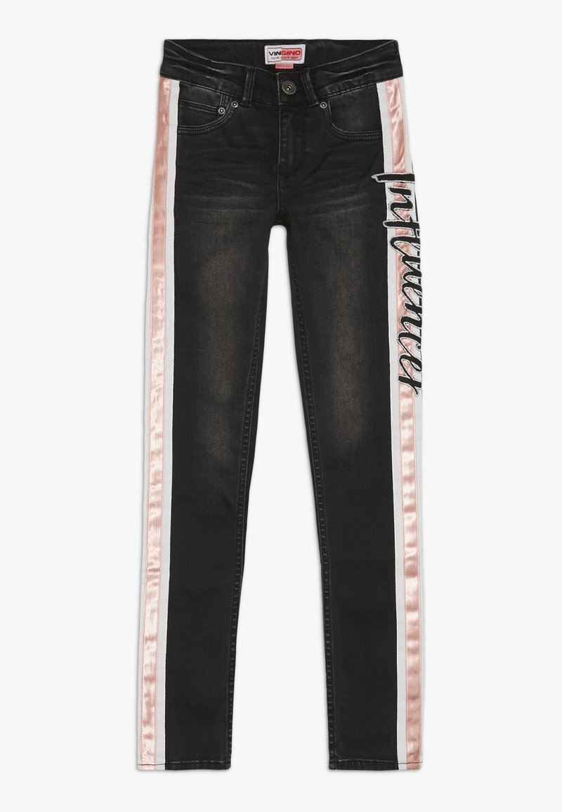 Vingino - BEATA - Skinny džíny - black vintage