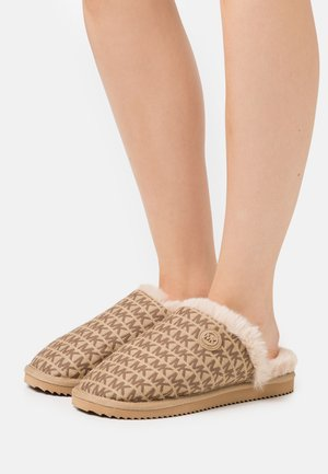 JANIS - Slippers - beige/multicolor