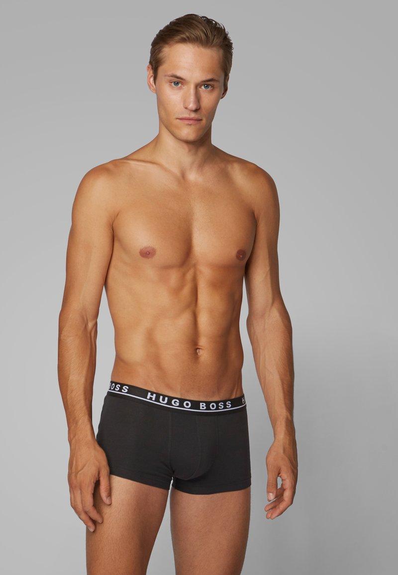 BOSS - TRUNK 3 PACK  - Pants - black