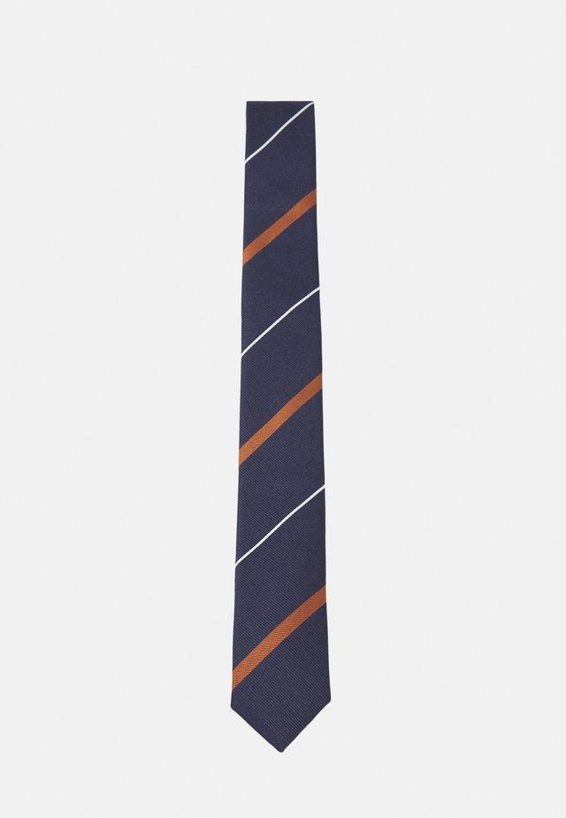 SLHLANDON TIE - Cravate - sky captain