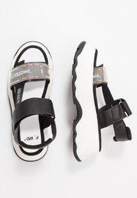 F_WD - Platform sandals - black - 3
