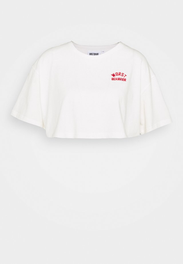 SAMMY WOMEN - Print T-shirt - offwhite