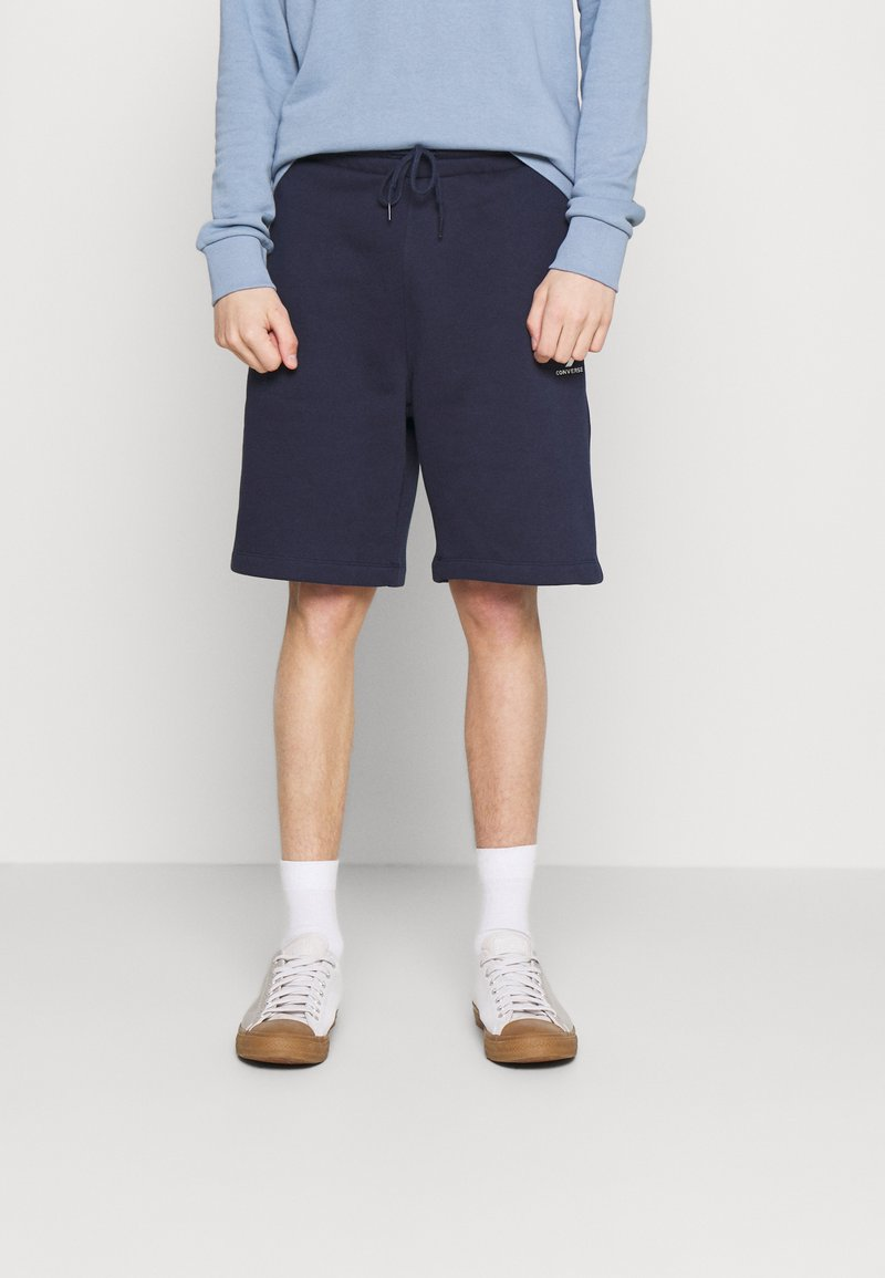Converse - EMBROIDERED STAR CHEVRON - Shorts - obsidian