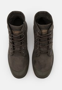 Palladium - PALLABROUSE WAX UNISEX - Lace-up ankle boots - major brown - 3
