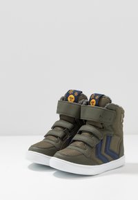 Hummel - STADIL BOOT MID - High-top trainers - forrest night - 3