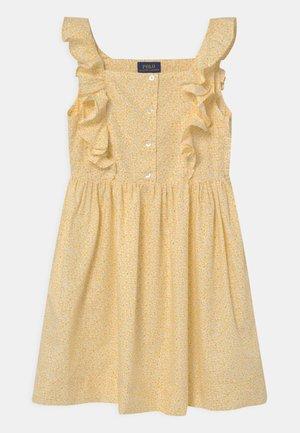 Košilové šaty - yellow