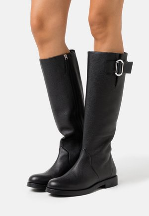 PIPER FLAT BOOT - Boots - black