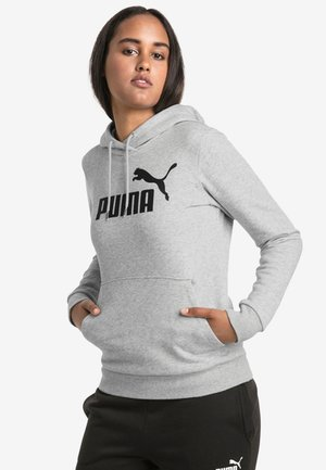 DAMEN  - Sweat à capuche - light gray heather