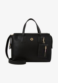 Tommy Hilfiger - CHARMING TOMMY SATCHEL - Handbag - black - 5