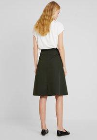 Opus - REJANA - A-snit nederdel/ A-formede nederdele - oliv green - 2