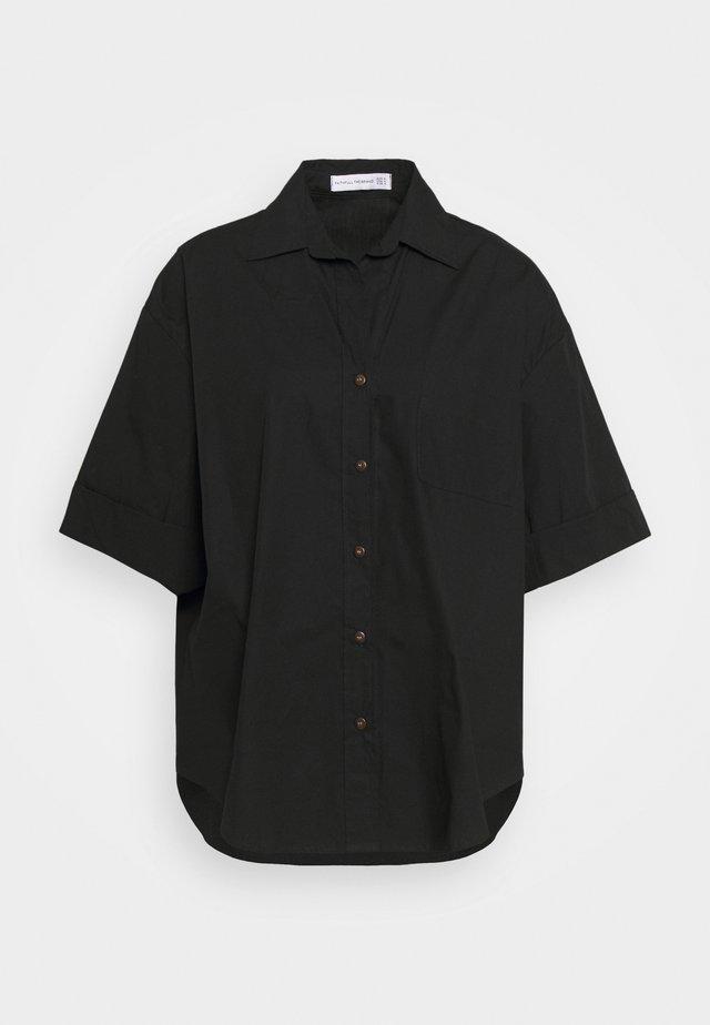 MARQUIS  - Blus - plain black