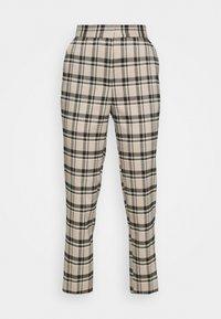 YAS - YASSTORY CROPPED PANT - Kalhoty - sycamore - 4