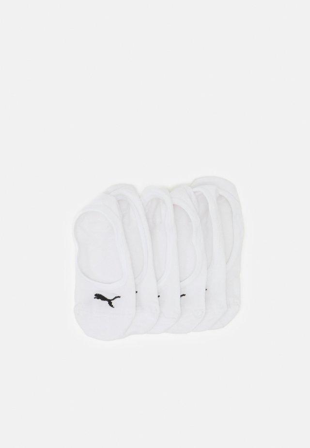 FOOTIE 6 PACK UNISEX - Socquettes - white