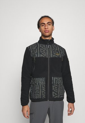 LOST LATITUDE - Fleece jacket - black