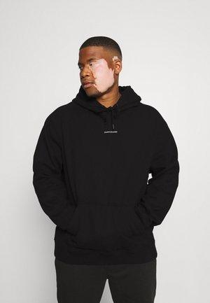 MICRO BRANDING HOODIE - Sweatshirt - black