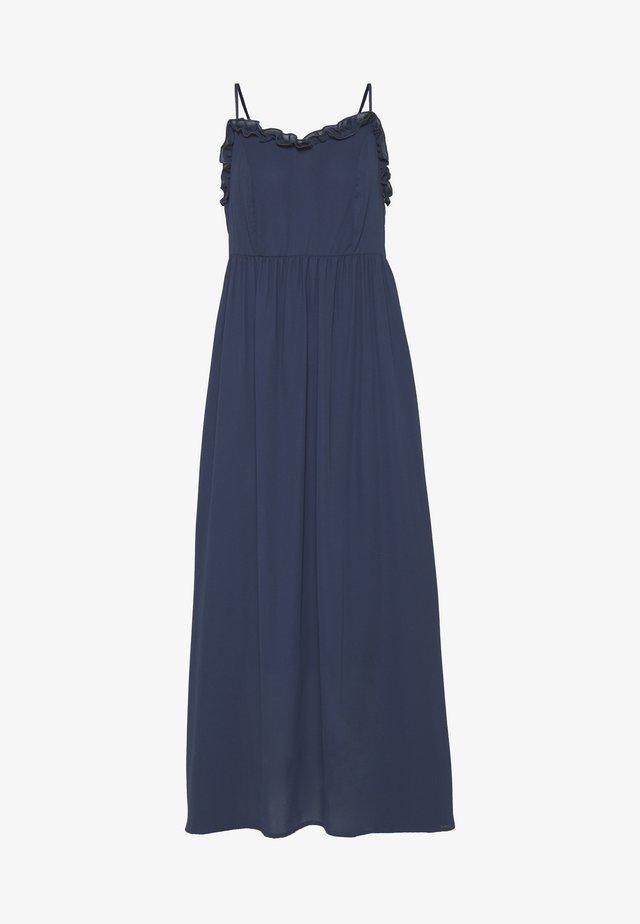 SLFRAYA ANKLE STRAP DRESS - Vapaa-ajan mekko - dark sapphire