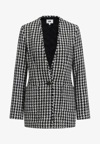 WE Fashion - JACQUARD PIED DE POULE  - Blazer - black - 5