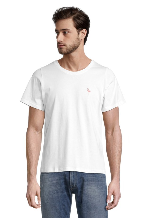 FLAMINGO - T-shirt con stampa - offwhite