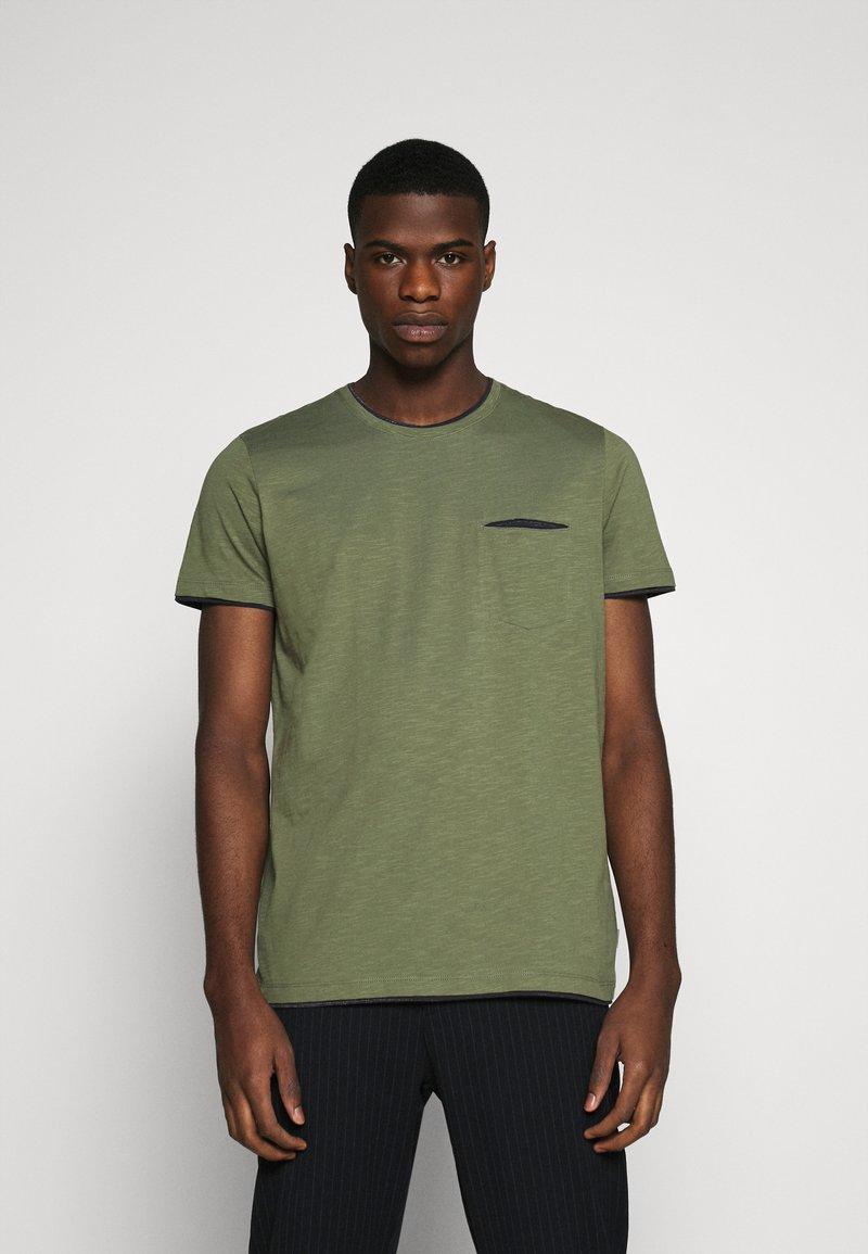 Esprit - T-shirt basique - khaki green