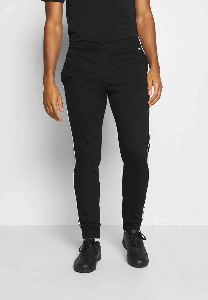 Champion - CUFF PANTS - Trainingsbroek - black