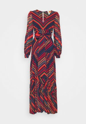 SUNSET STRIPE DRESS - Maxi dress - multi