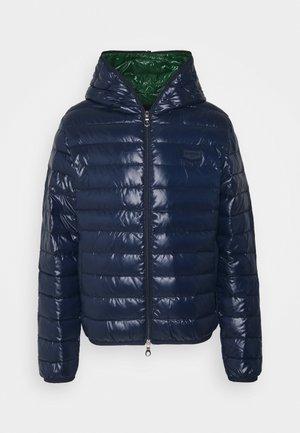 MARFAKDUE - Down jacket - blu scuro