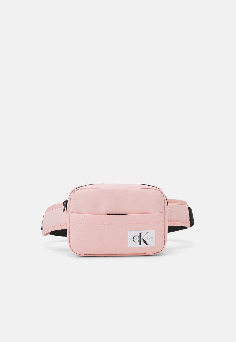Calvin Klein Jeans - MONOGRAM BADGE WAISTBAG UNISEX - Bum bag - sand rose