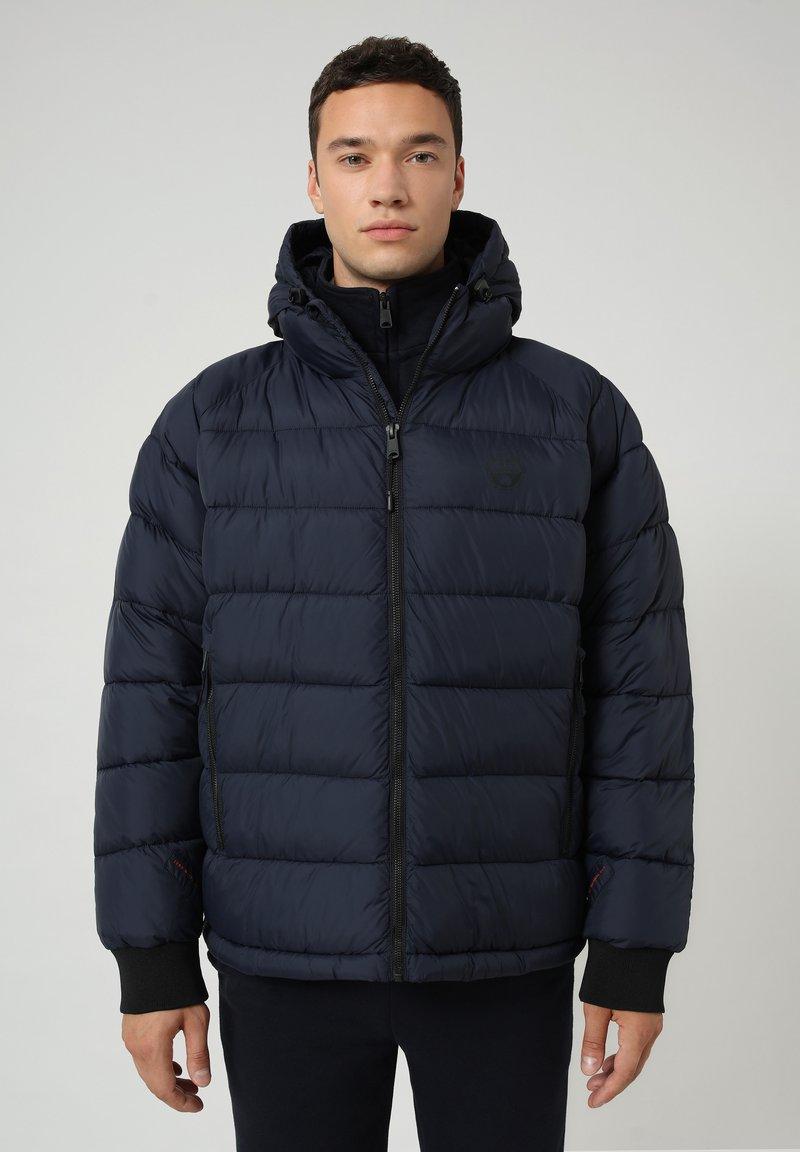 Napapijri - CIRCULAR PUFFER - Winter jacket - blu marine