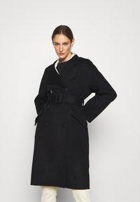 Theory - BELT COAT LUXE - Classic coat - black - 5