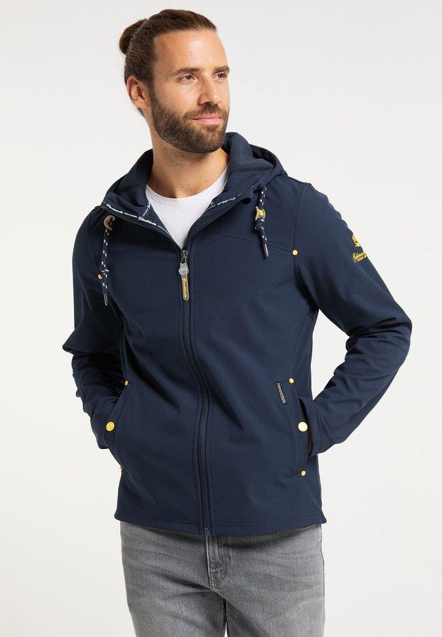 MIT MAGIC-PRINT - Zip-up hoodie - marine