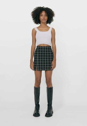 MIT ABTRENNUNG - A-snit nederdel/ A-formede nederdele - black