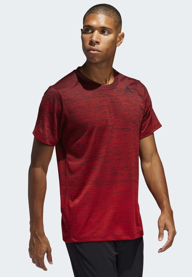 adidas Performance - TECH GRADIENT T-SHIRT - Print T-shirt - red