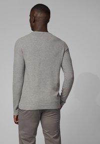 BOSS - TRIX - Long sleeved top - light grey - 2