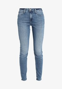 Lee - SCARLETT HIGH - Jeans Skinny Fit - stone blue denim - 4