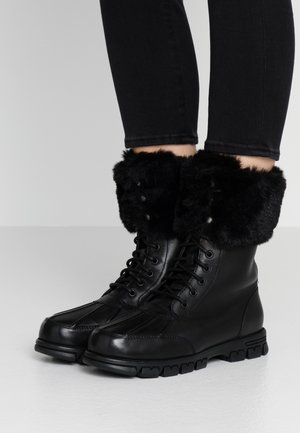 DABNEY - Lace-up ankle boots - black