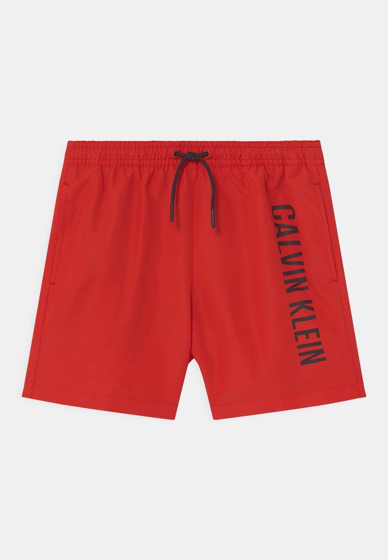 Calvin Klein Swimwear - MEDIUM DRAWSTRING - Plavky - fierce red