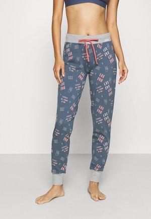 Pyjama bottoms - denim blue