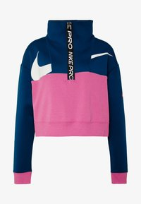 Nike Performance - DRY - Sudadera - valerian blue/cosmic fuchsia/white - 4