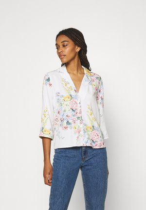 ONLALMA LIFE VIS - Blouse - cloud dancer