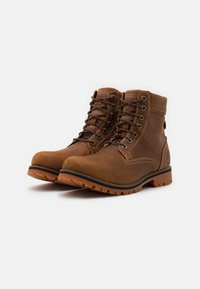 Timberland - RUGGED 6 IN PLAIN TOE WP - Lace-up ankle boots - rust - 1