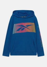 Reebok - RAINBOW VECTOR HOODIE UNISEX - Sweatshirt - royal blue - 0