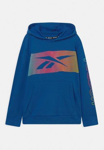 RAINBOW VECTOR HOODIE UNISEX - Collegepaita - royal blue