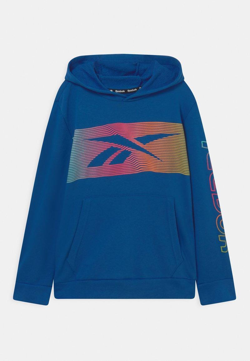 Reebok - RAINBOW VECTOR HOODIE UNISEX - Sweatshirt - royal blue
