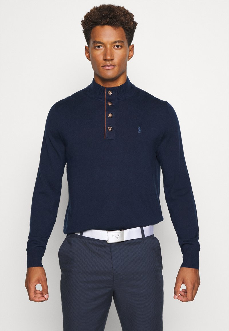 Polo Ralph Lauren Golf - LONG SLEEVE - Svetr - french navy