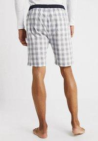 Ceceba - BERMUDA - Pyjama bottoms - grey/white - 2
