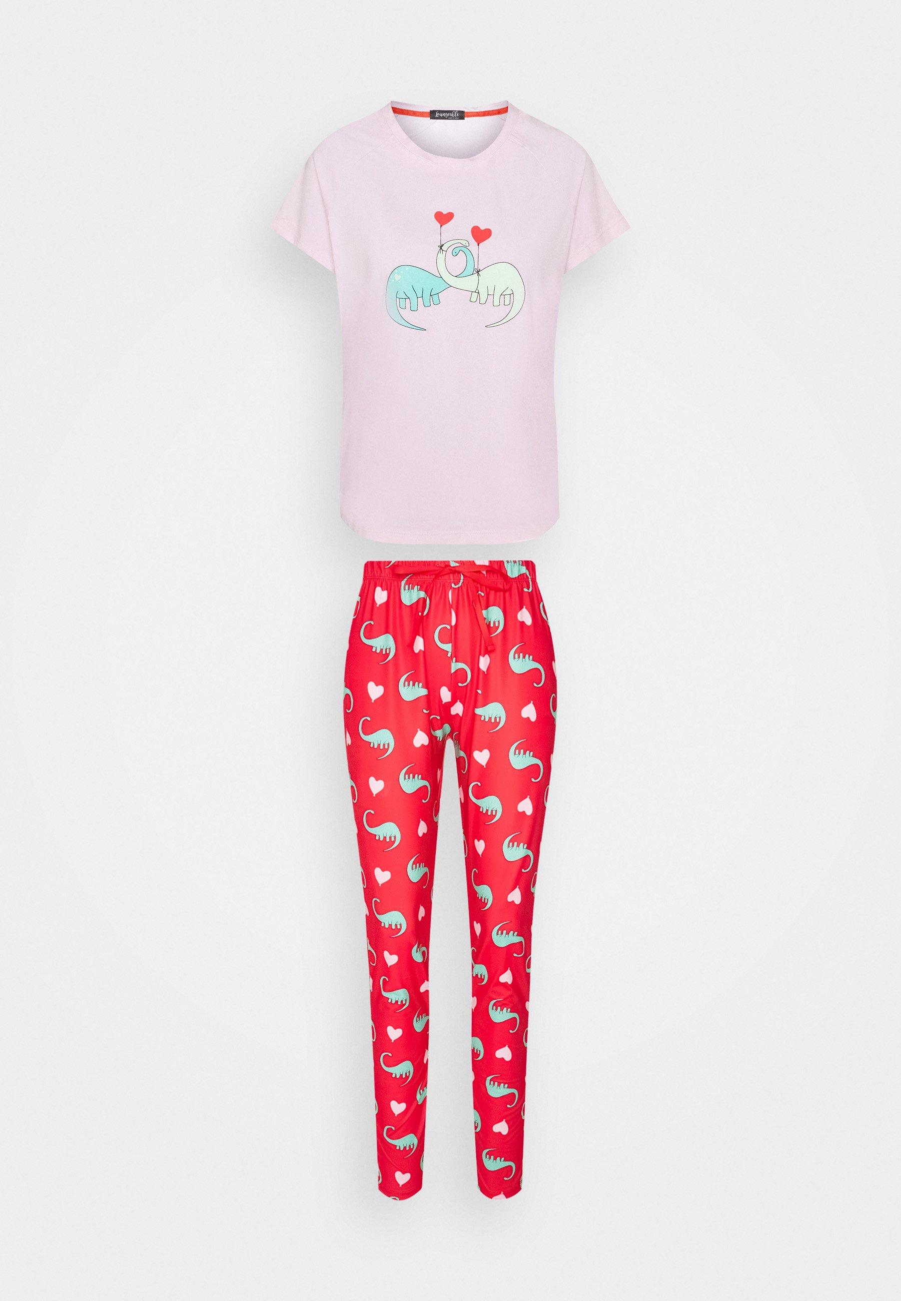 Femme LOUNGEABLE DINOSAUR SET - Pyjama