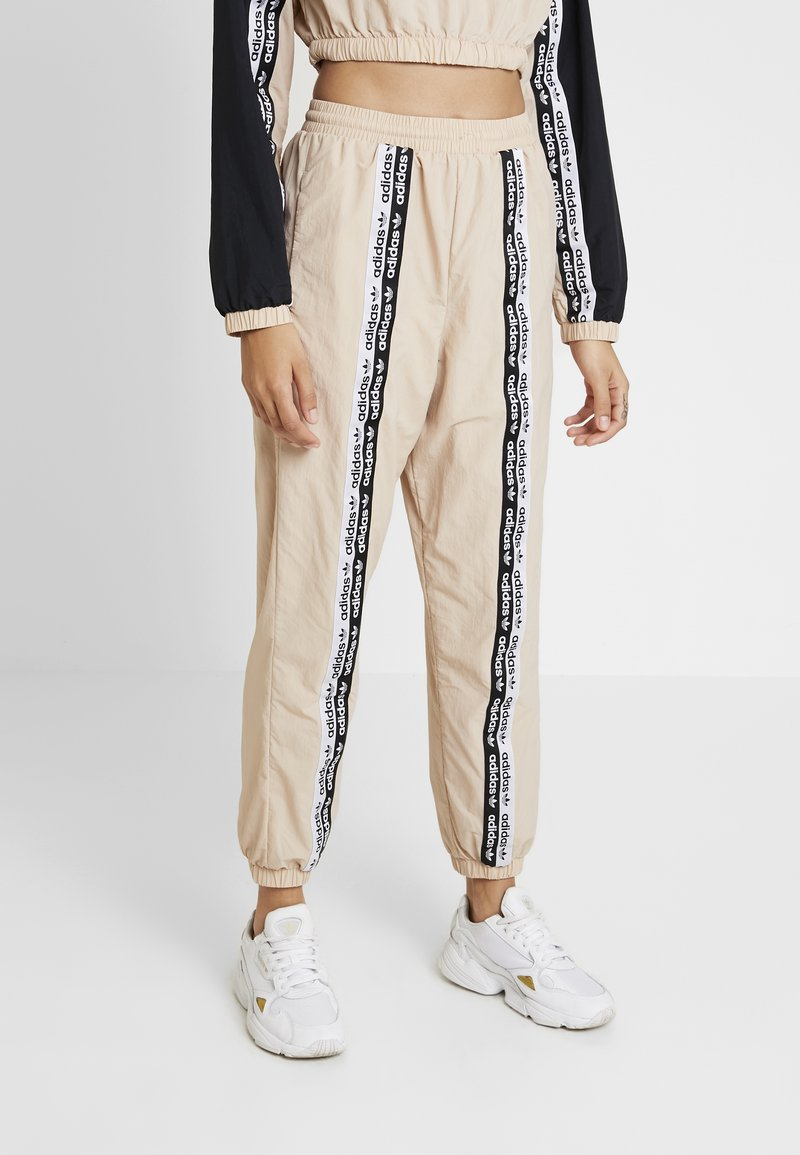 adidas Originals - TRACK PANTS - Trousers - ash pearl