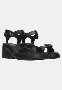 Camper - KAAH - Sandaalit nilkkaremmillä - schwarz - 1