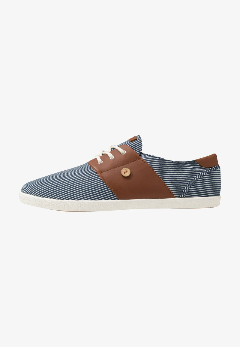 Faguo - TENNIS CYPRESS - Trainers - blue/white